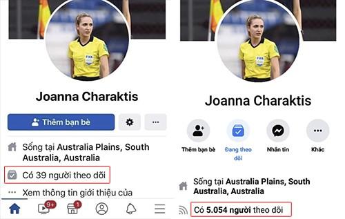 Nữ trọng tài trận Việt Nam - Thái Lan khóa Facebook - ảnh 1