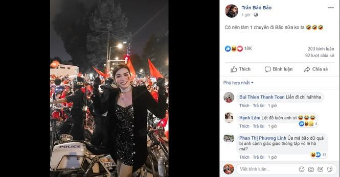 Phát 'sốt' với muôn kiểu ăn mừng Việt Nam vô địch bóng đá SEA Games của sao Việt - ảnh 11