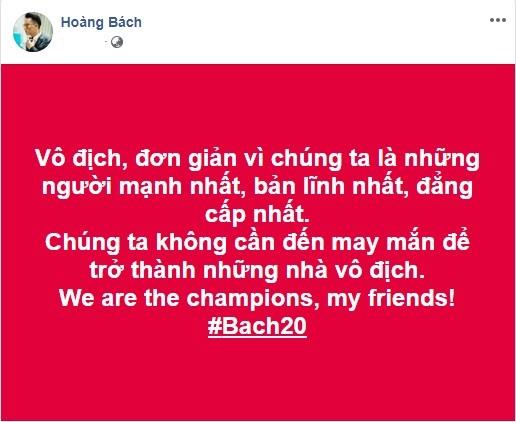 Phát 'sốt' với muôn kiểu ăn mừng Việt Nam vô địch bóng đá SEA Games của sao Việt - ảnh 1