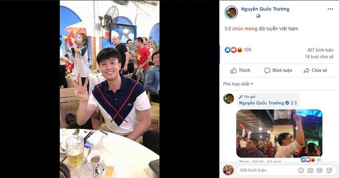 Phát 'sốt' với muôn kiểu ăn mừng Việt Nam vô địch bóng đá SEA Games của sao Việt - ảnh 4