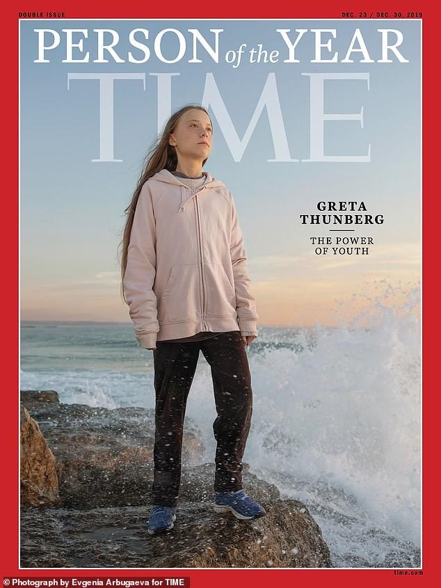 'Chiến binh khí hậu' 16 tuổi được Time chọn là Nhân vật của năm  - ảnh 1