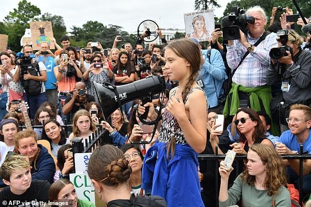 'Chiến binh khí hậu' 16 tuổi được Time chọn là Nhân vật của năm  - ảnh 4