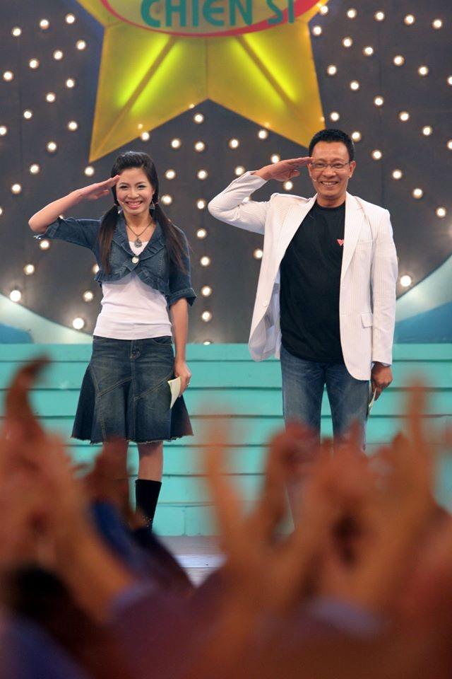 Hình ảnh MC Lại Văn Sâm và Hoàng Linh ở 'Chúng tôi là chiến sĩ' 13 năm trước - ảnh 1
