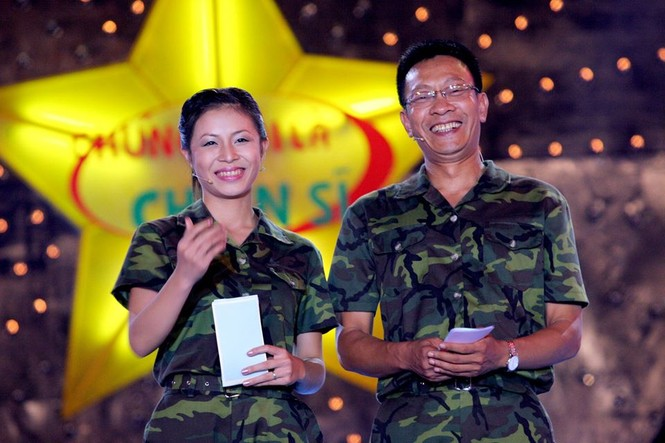 Hình ảnh MC Lại Văn Sâm và Hoàng Linh ở 'Chúng tôi là chiến sĩ' 13 năm trước - ảnh 3