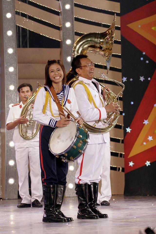 Hình ảnh MC Lại Văn Sâm và Hoàng Linh ở 'Chúng tôi là chiến sĩ' 13 năm trước - ảnh 8