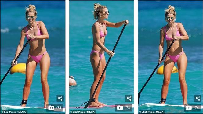 Vogue Williams diện bikini hai mảnh, khoe body không chút mỡ thừa - ảnh 6