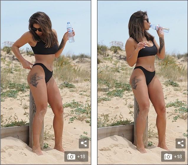 Sao truyền hình Anh thả dáng 'mướt mắt' trên bãi biển - ảnh 10