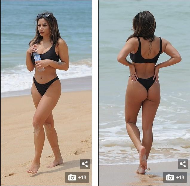 Sao truyền hình Anh thả dáng 'mướt mắt' trên bãi biển - ảnh 4