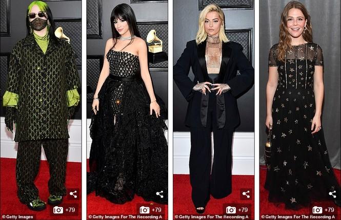 Chiêm ngưỡng những bộ cánh đẹp nhất trên thảm đỏ Grammy 2020 - ảnh 11