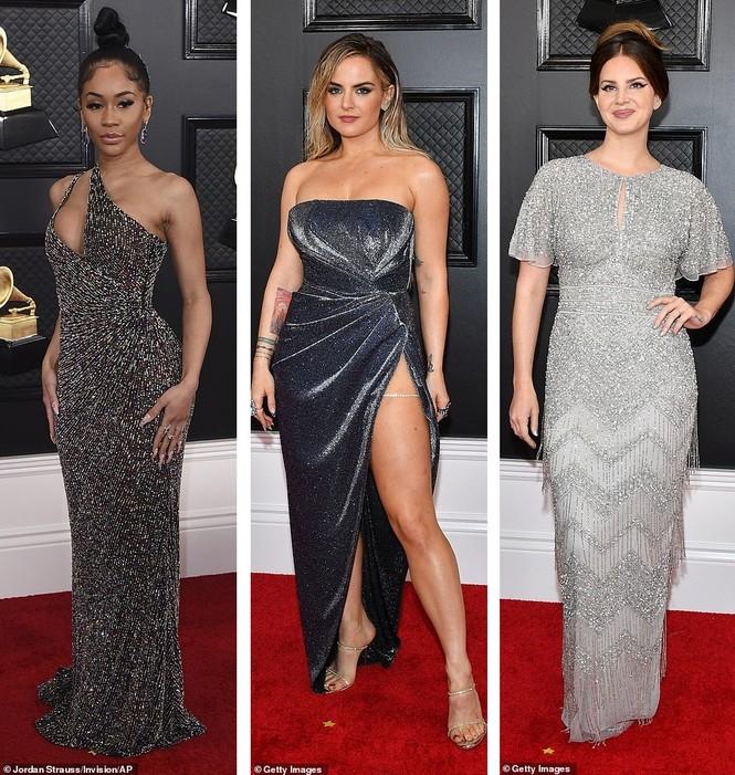 Chiêm ngưỡng những bộ cánh đẹp nhất trên thảm đỏ Grammy 2020 - ảnh 12