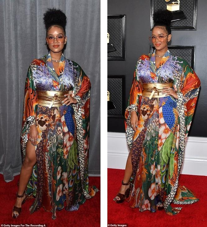 Chiêm ngưỡng những bộ cánh đẹp nhất trên thảm đỏ Grammy 2020 - ảnh 14
