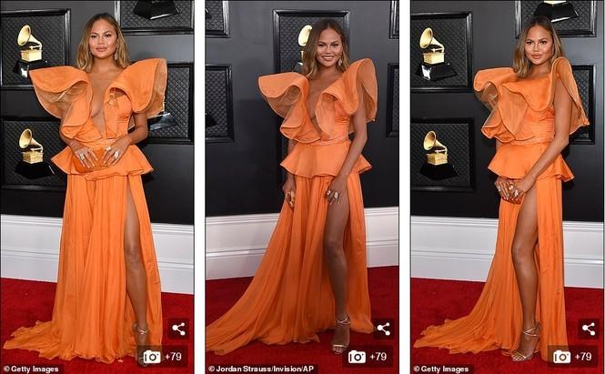 Chiêm ngưỡng những bộ cánh đẹp nhất trên thảm đỏ Grammy 2020 - ảnh 4