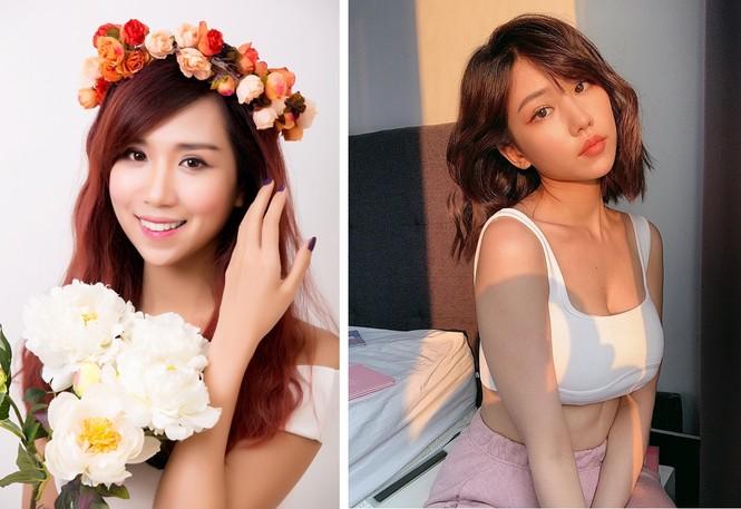 Nữ ca sĩ 'Ghen Cô Vy' tung ảnh sexy, lộ cả chân ngực với áo crop-top - ảnh 7