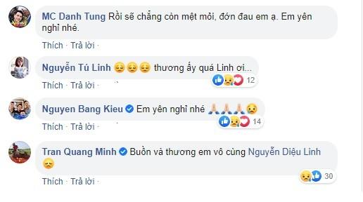 Đồng nghiệp VTV và loạt nghệ sĩ bàng hoàng trước tin MC Diệu Linh qua đời - ảnh 4