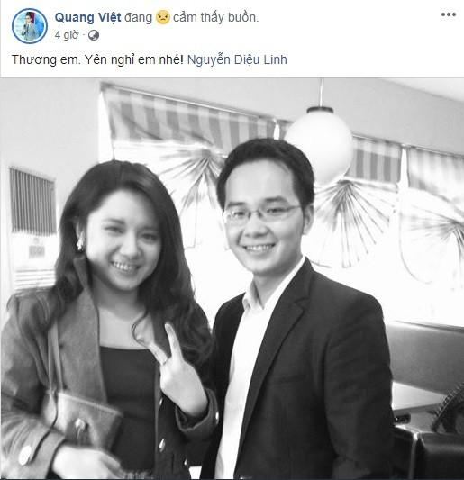 Đồng nghiệp VTV và loạt nghệ sĩ bàng hoàng trước tin MC Diệu Linh qua đời - ảnh 6
