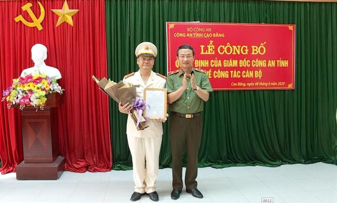 Bản tin 8H: Bộ Công an bổ nhiệm Cục trưởng Cục công tác đảng và công tác chính trị - ảnh 1