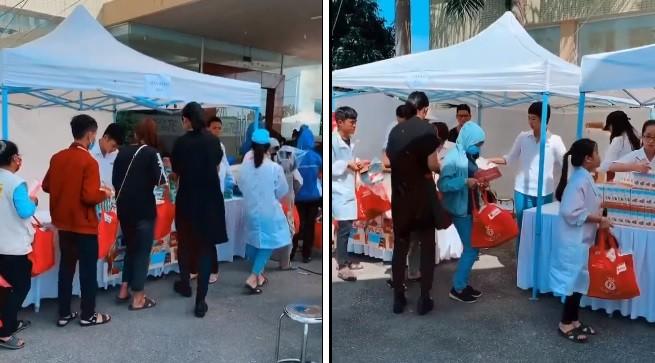 'Người đẹp nhân ái': Thí sinh HHVN mở 'Phiên chợ tử tế' cho 500 công nhân  - ảnh 2