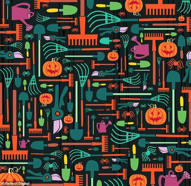 'Hack não' tìm cây chổi phù thủy trong tranh Halloween chỉ với 45 giây, bạn đã thử chưa? - ảnh 1