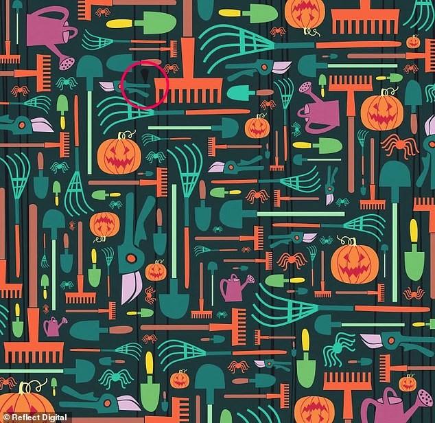 'Hack não' tìm cây chổi phù thủy trong tranh Halloween chỉ với 45 giây, bạn đã thử chưa? - ảnh 7
