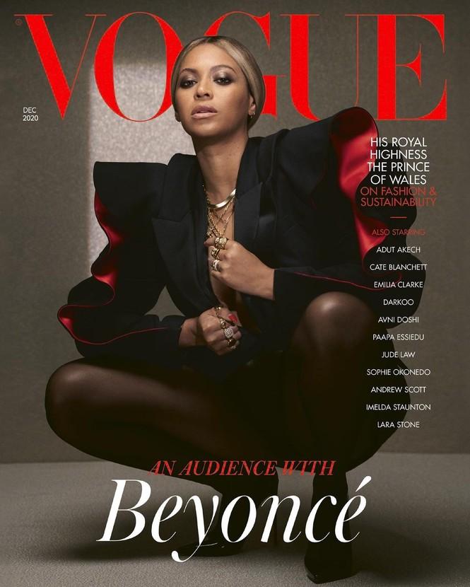 Beyonce diện đầm khoét lưng sâu, khoe vòng ba nóng bỏng trên tạp chí danh tiếng - ảnh 3
