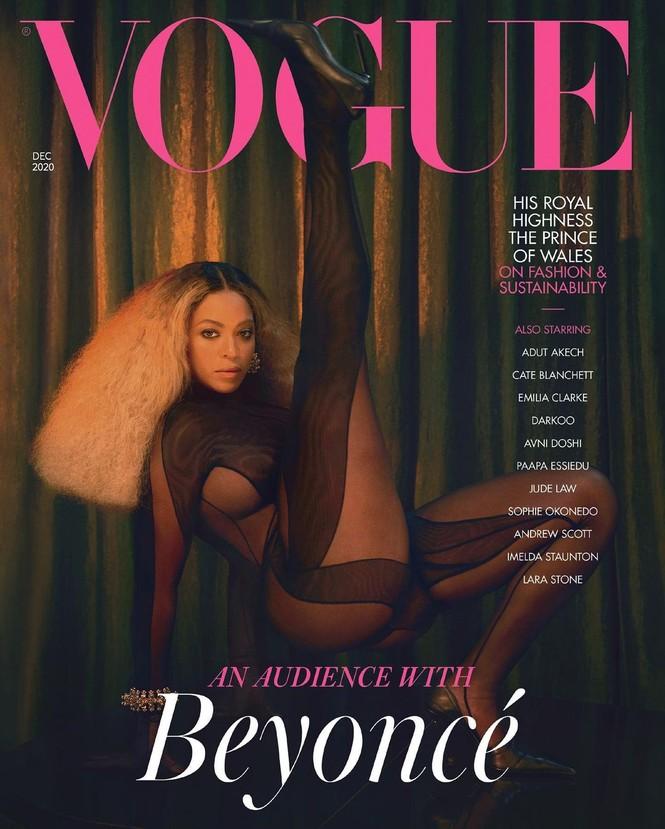 Beyonce diện đầm khoét lưng sâu, khoe vòng ba nóng bỏng trên tạp chí danh tiếng - ảnh 4