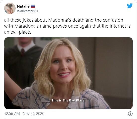 Huyền thoại Maradona qua đời, dân mạng lại tưởng nhớ Madonna và gọi là 'nữ hoàng bóng đá' - ảnh 4