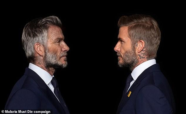 David Beckham bất ngờ hóa ông lão 70 tuổi - ảnh 2