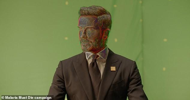 David Beckham bất ngờ hóa ông lão 70 tuổi - ảnh 3