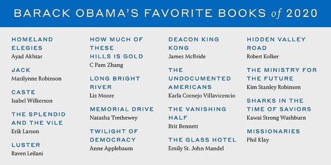Ông Obama tiết lộ phim, ca khúc và sách yêu thích nhất năm 2020 - ảnh 1