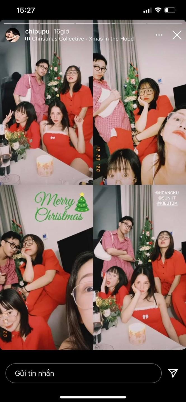 Chi Pu hóa 'bà già Noel' gợi cảm, nhảy sexy đón Giáng sinh - ảnh 2