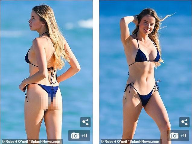 'Chân dài' Louisa Warwick khoe hình thể đáng kinh ngạc với bikini bé xíu - ảnh 6