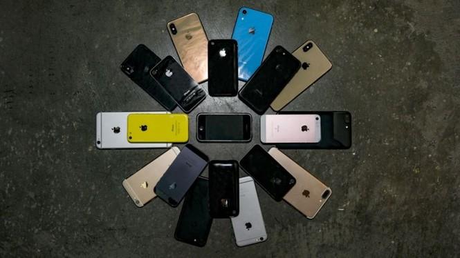 Nhìn lại chặng đường của Apple với 21 chiếc iPhone từng được trình làng hơn 10 năm qua - ảnh 46