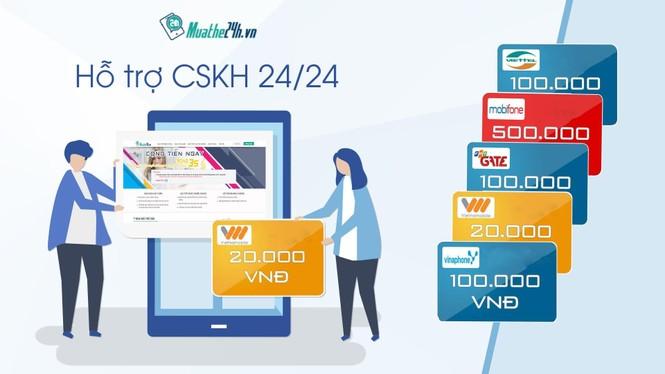 Muathe24h.vn: Khát vọng số hóa thói quen mua thẻ cào của người Việt