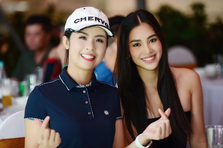 Dàn Hoa hậu, Á hậu gợi cảm tại đêm gala trao giải Tiền Phong Championship 2020 - ảnh 10