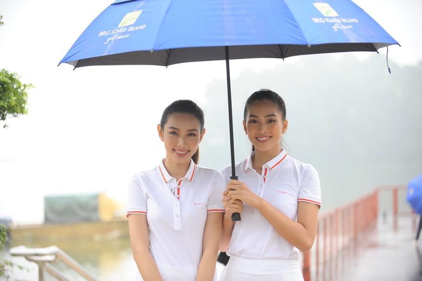 Tiểu Vy và dàn người đẹp Hoa hậu Việt Nam đẹp rạng rỡ trên sân golf  - ảnh 8