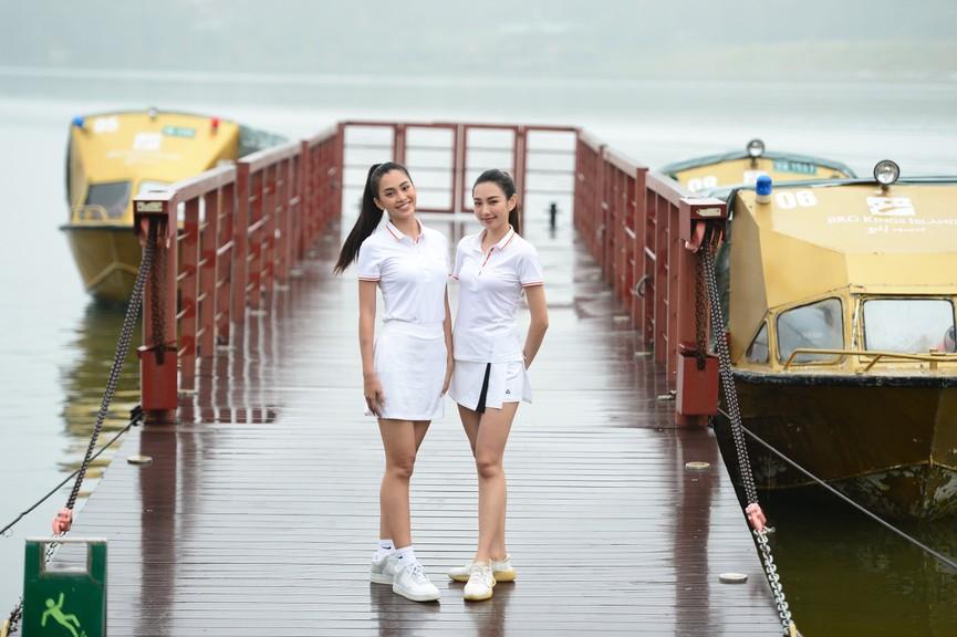 Tiểu Vy và dàn người đẹp Hoa hậu Việt Nam đẹp rạng rỡ trên sân golf  - ảnh 9