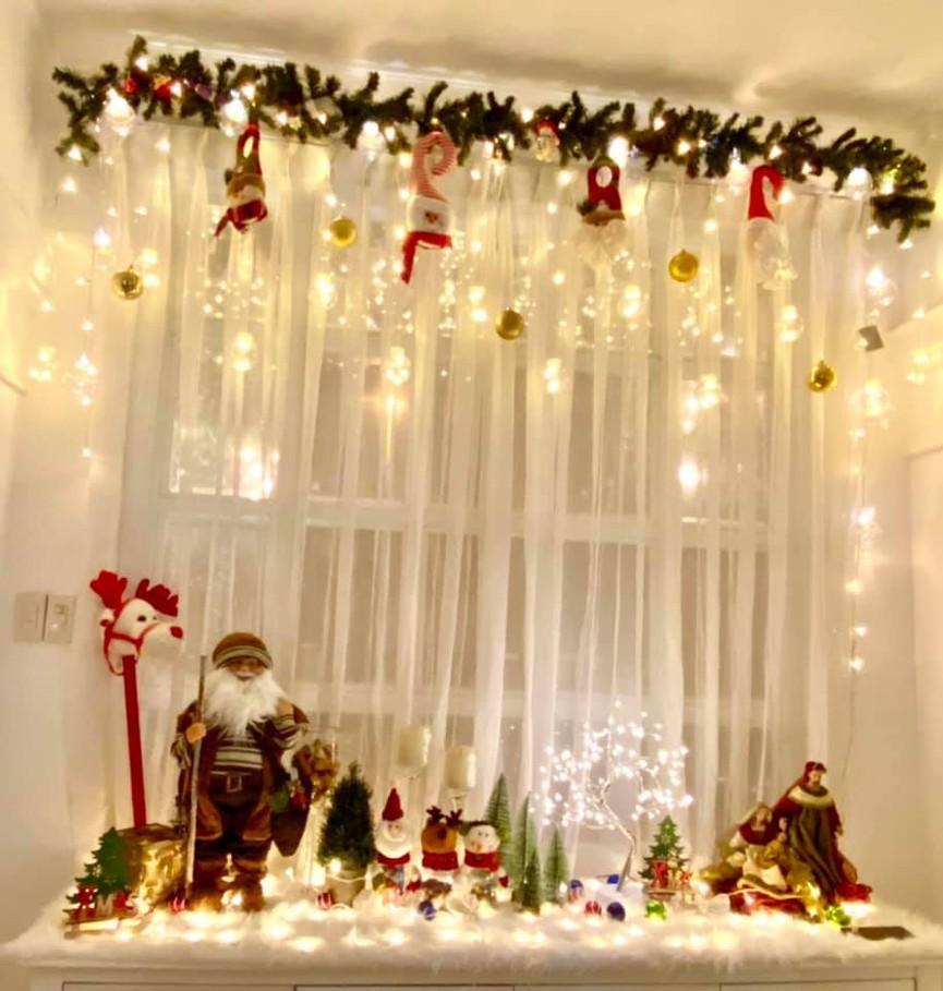 Siêu mẫu Thúy Hạnh trang hoàng biệt thự triệu đô đón Giáng sinh  - ảnh 3