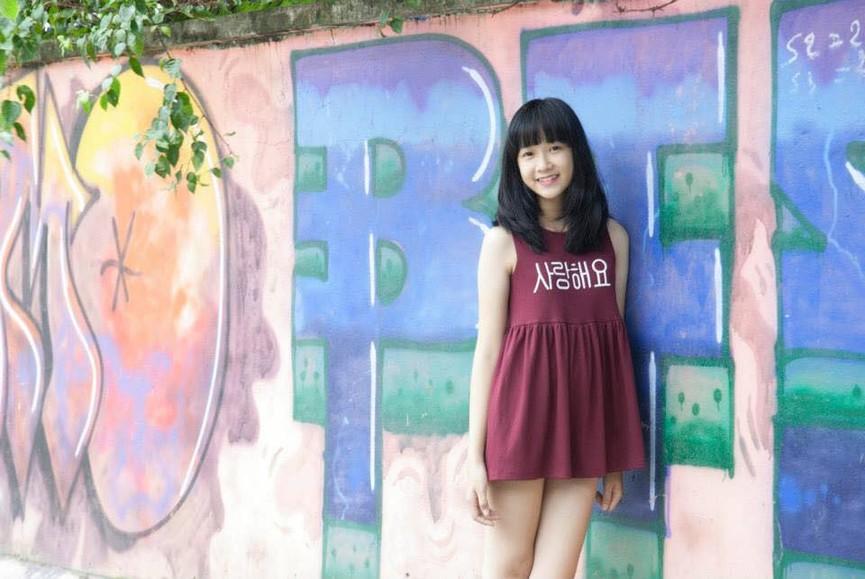Ảnh cấp 3 cực xinh đẹp của 'Người đẹp có làn da đẹp nhất' Hoa hậu Việt Nam 2020 - ảnh 9