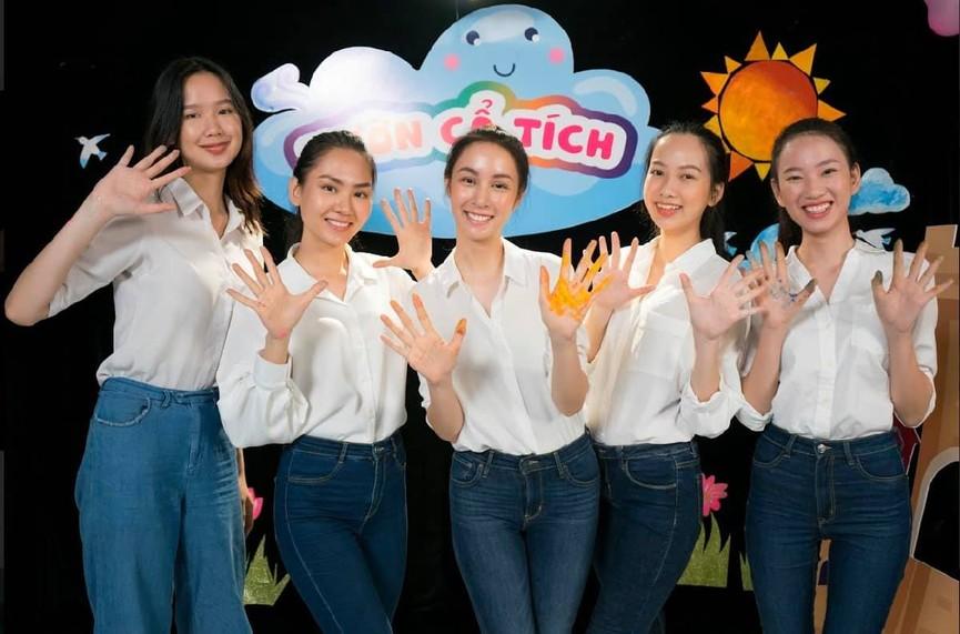 Người đẹp Nhân ái Huỳnh Nguyễn Mai Phương ấn tượng về chuyến thiện nguyện ở quê Hoa hậu Đỗ Thị Hà  - ảnh 7