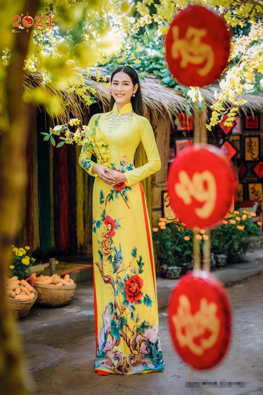 Top 5 Người đẹp Biển HHVN 2020 khoe đường cong quyến rũ với áo dài - ảnh 4