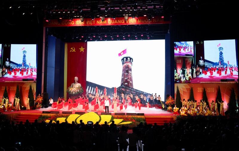 'Hà Tây quê lụa' vang lên trong Lễ kỷ niệm 10 năm sáp nhập về Hà Nội - ảnh 2