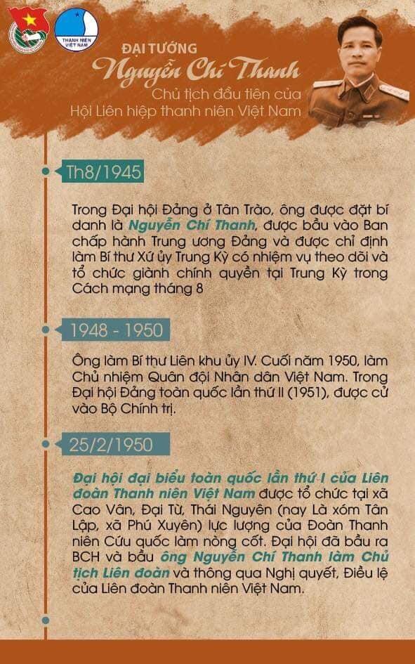 Đại tướng Nguyễn Chí Thanh - Chủ tịch đầu tiên Hội LHTN Việt Nam - ảnh 3
