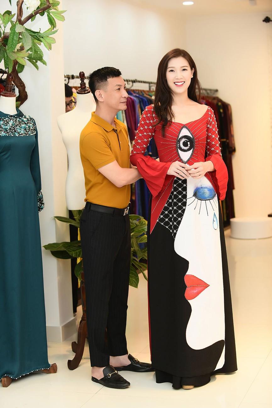 Bạn gái Công Lý đi thử áo dài giữa tin đồn sắp kết hôn - ảnh 12