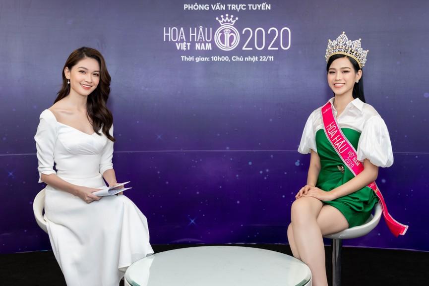 Top 3 HHVN 2020 khoe chân dài nóng bỏng, 'đọ sắc' bên Á hậu Thuỳ Dung  - ảnh 9