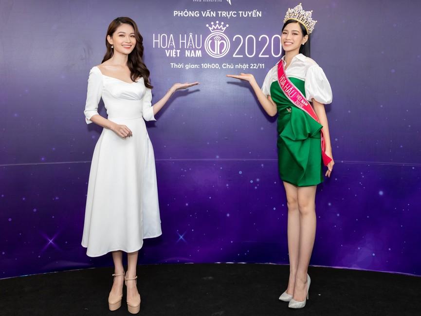 Top 3 HHVN 2020 khoe chân dài nóng bỏng, 'đọ sắc' bên Á hậu Thuỳ Dung  - ảnh 12