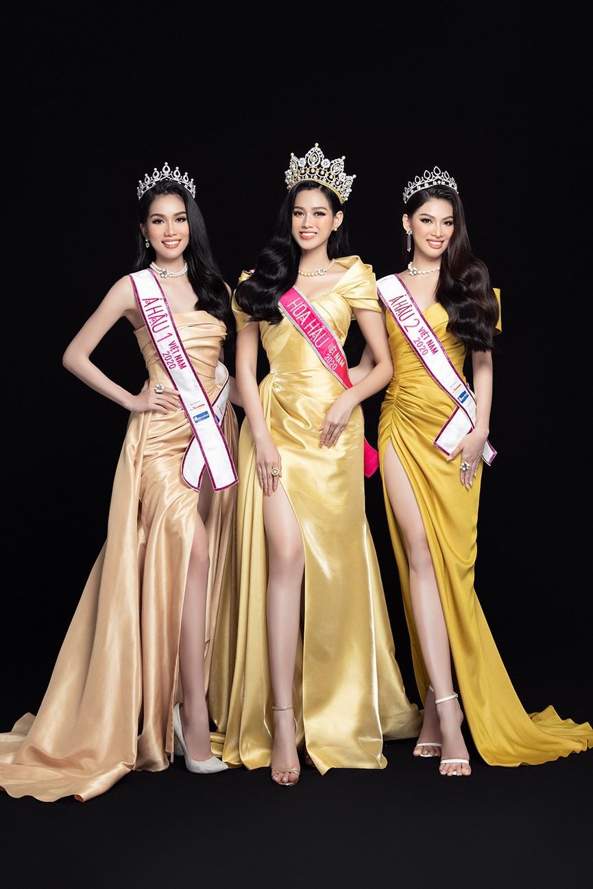 Nhan sắc ngày càng 'thăng hạng' của Top 3 Hoa hậu Việt Nam 2020 sau 1 tháng đăng quang - ảnh 2