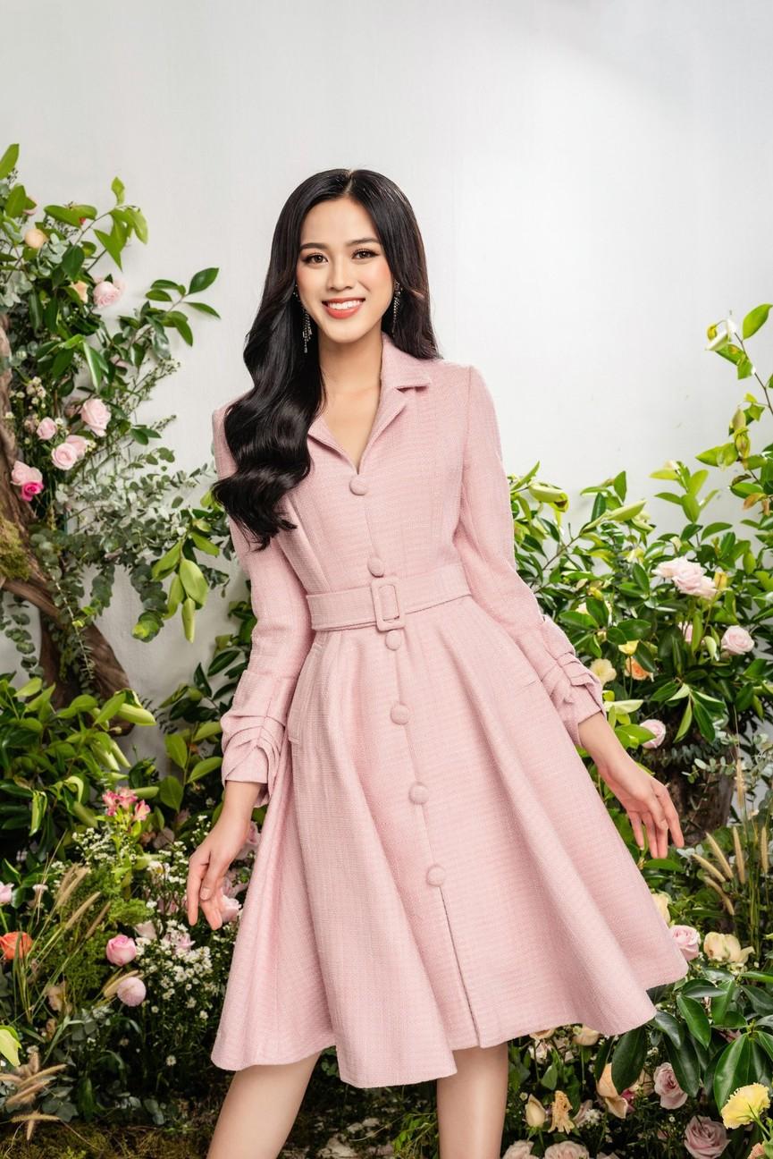 Hoa hậu Đỗ Thị Hà xinh đẹp quyến rũ, khoe đôi chân dài thẳng tắp - ảnh 5