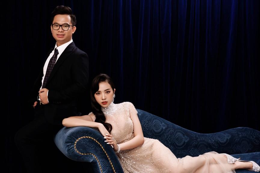 Á hậu Thúy An tung ảnh cưới, hé lộ chân dung ông xã tiến sĩ hơn 12 tuổi - ảnh 9