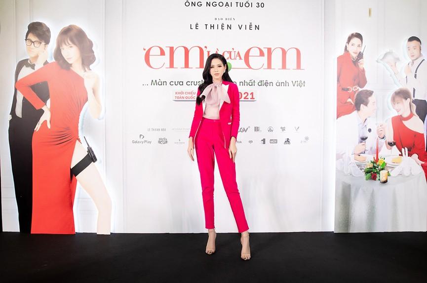 Top 3 Hoa hậu Việt Nam 2020 ngày càng 'lột xác', thần thái cuốn hút ở sự kiện - ảnh 2