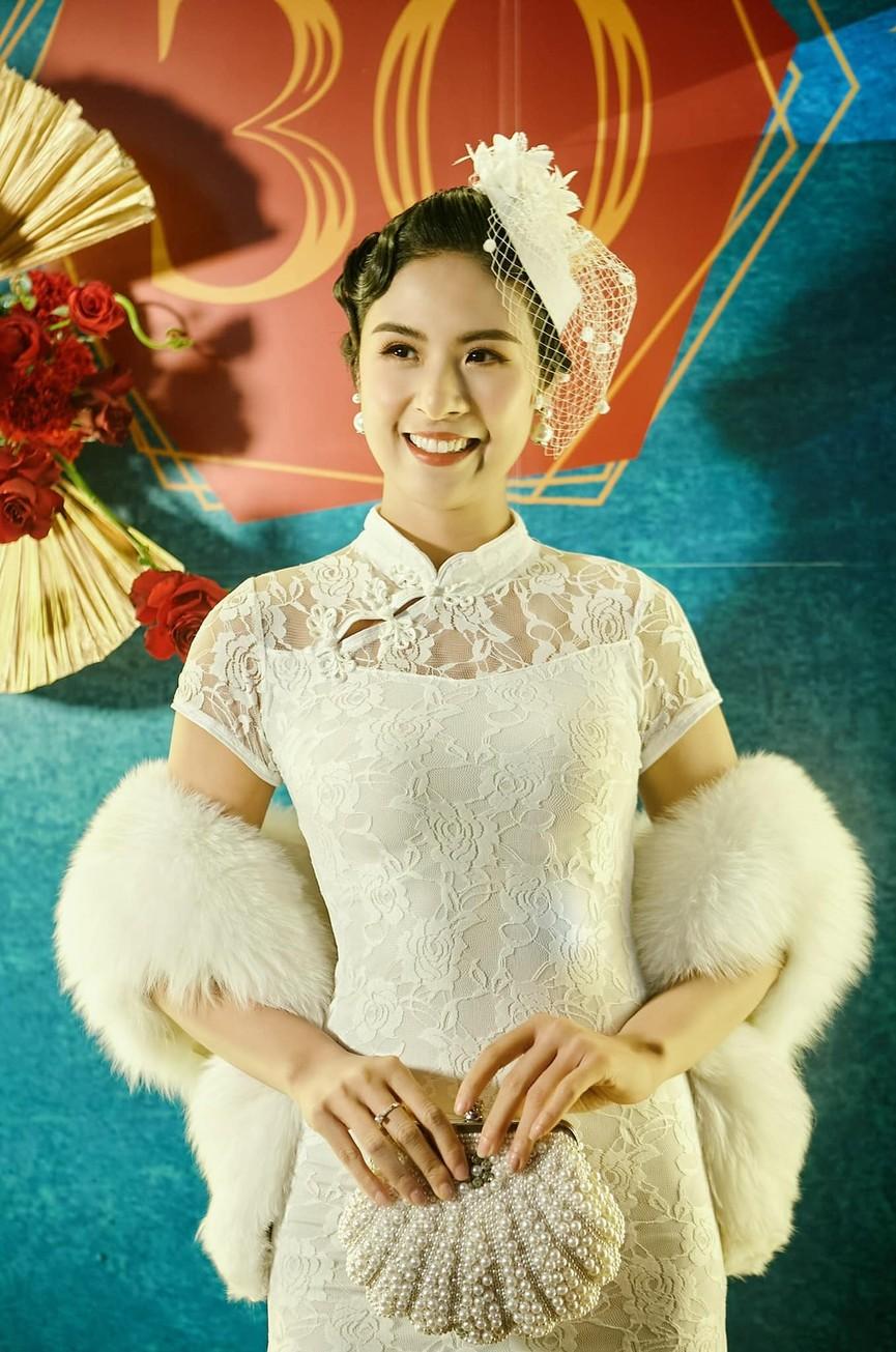 Võ Hoàng Yến khoe chân dài miên man, Ngọc Hân gợi cảm với tạo hình 'Bến Thượng Hải' - ảnh 5